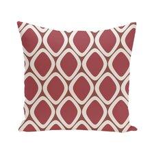 Pebbles Geometric Print Outdoor Pillow