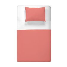 Solid Printed Duvet Cover