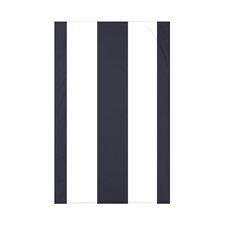 Awning Stripe Stripe Print Polyester Fleece Throw Blanket