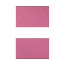 Narrow the Gap Stripe Print Polyester Fleece Throw Blanket