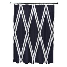 Gate Keeper Geometric Print Shower Curtain
