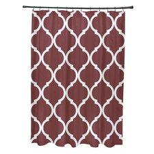 French Quarter Geometric Print Shower Curtain