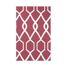 Charleston Geometric Print Polyester Fleece Throw Blanket