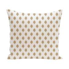 Cop-Ikat Geometric Print Outdoor Pillow