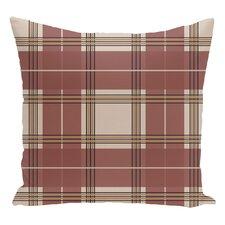 Plaid Decorative Floor Pillow