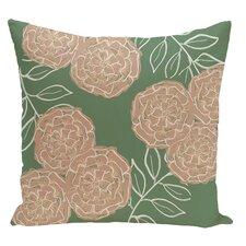 Floral Decorative Floor Pillow