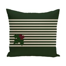 Holly Stripe Decorative Throw Pillow