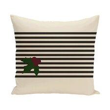 Holly Stripe Decorative Throw Pillow