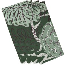 Flowers and Fronds Floral Napkin (Set of 4)