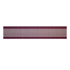 Half Stripe Table Runner