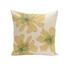 Floral Outdoor Throw Pillow