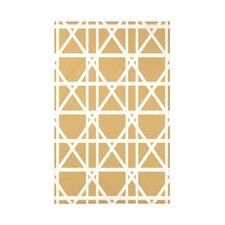 Trellis Geometric Print Throw Blanket