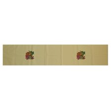 Autumn Leaves Floral Print Table Runner