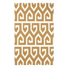Keyed Up Geometric Print Throw Blanket