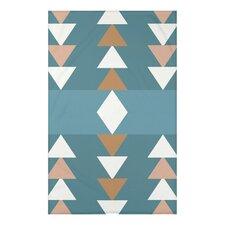 Sagebrush Geometric Print Throw Blanket