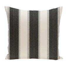 Striate Stripe Stripe Print Throw Pillow