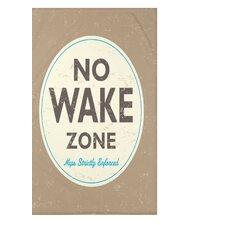 Surf, Sand, & Sea Nap Zone Word Throw Blanket
