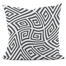 Geometric Foam Throw Pillow