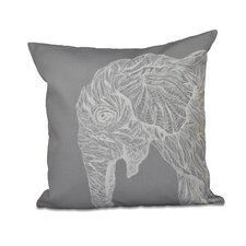 Animal Magnatism Throw Pillow