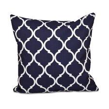French Quarter Geometric Print Throw Pillow