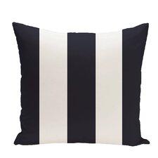 Awning Stripe Print Throw Pillow