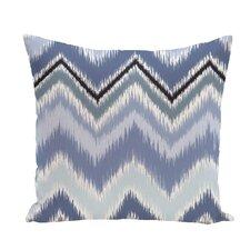 Ikat-Arina Chevron Print Throw Pillow