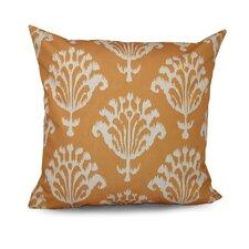 Floral Motifs Decorative Down Throw Pillow