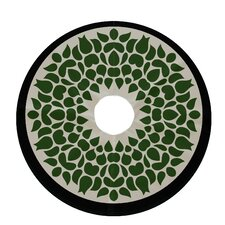 Holiday Wishes Gate Wreath Decorative Holiday Tree Skirt