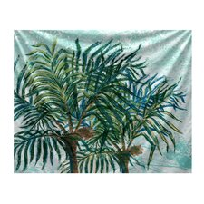 Beach Vacation Palms Tapestry