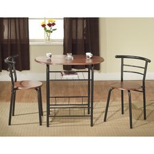 Bistro 3 Piece Dining Set