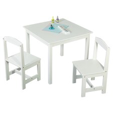 Hayden 3 Piece Kids Square Table & Chair Set