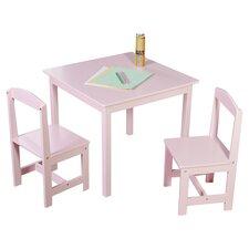Hayden 3 Piece Kids Square Table & Chair Set