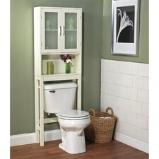 "21"" x 67.3"" Free Standing Over the Toilet"