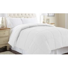 Sanctuary by PCT Down Alternative Reversible Comforter in White