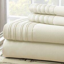 Fine Linens 1000 Thread Count 4 Piece Sheet Set