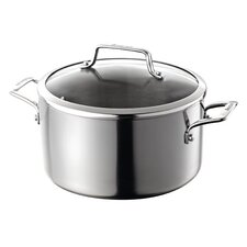5.7L Stock Pot with Lid