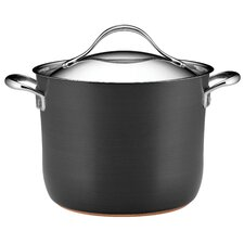 Anolon Nouvelle Copper 7.6L Stock Pot with Lid
