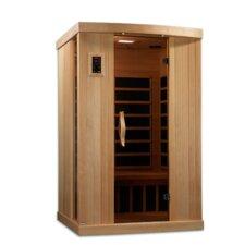 Puretech Low EMF 2 Person IR Carbon FAR Infrared Sauna