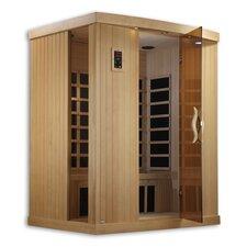 Puretech Low EMF 3 Person IR Carbon FAR Infrared Sauna