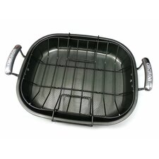 14cm Non-Stick Rectangle Roaster and Rack