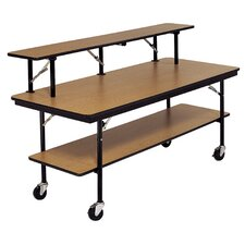 Rectangular Cafeteria Table