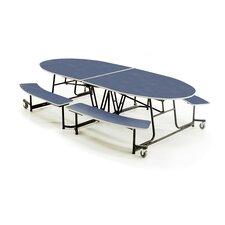 "46"" x 121"" Rectangular Cafeteria Table"