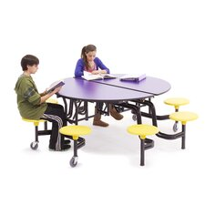 60'' Round Cafeteria Table