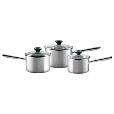 Meyer 3-Piece Saucepan Set with Lids