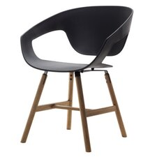 Vad Side Chair with Wooden Legs (Set of 2)