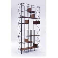 "Network 75.6"" Accent Shelves Bookcase"