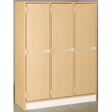 1 Tier 3 Wide Doors Locker