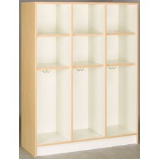 1 Tier 3 Wide Contemporary Locker