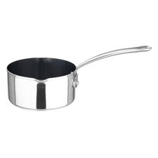 14cm Stainless Steel Non-Stick Milkpan in Silver