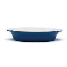 Vintage 32 cm Oval Ceramic Baker